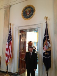 63 Chris Kluczewski - private tour  in White House